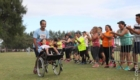 Arrivée de participants du 5 km