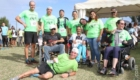 L'équipe de la Joélette du PMS Philippe de Camaret de la Fondation Père Favron - St Benoît